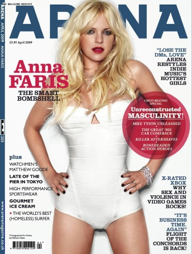 Anna Faris - Arena, April 2009