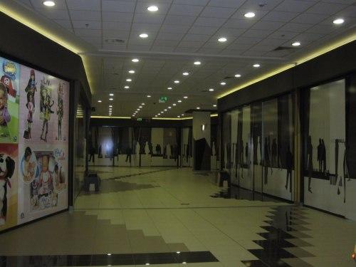 Паметникът Mega Mall Ruse