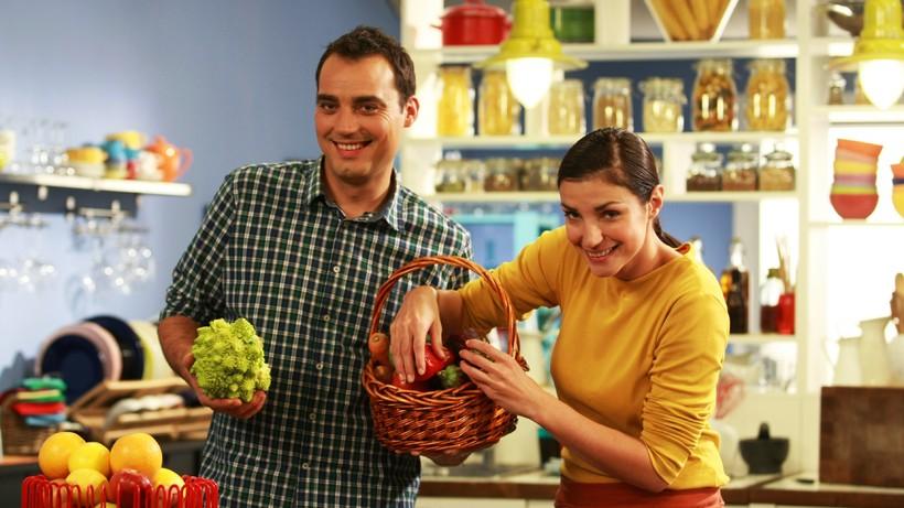"""Лора и Стоян се допълват чудесно в кулинарното предаване """"Бон Апети""""."""