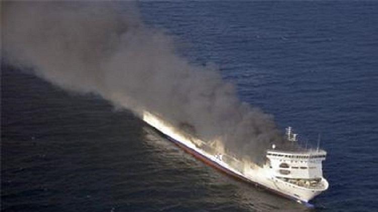 Пожар на ферибот в Адриатическо море? Чудесно, още повече, че имаме и български разказ от първо лице!