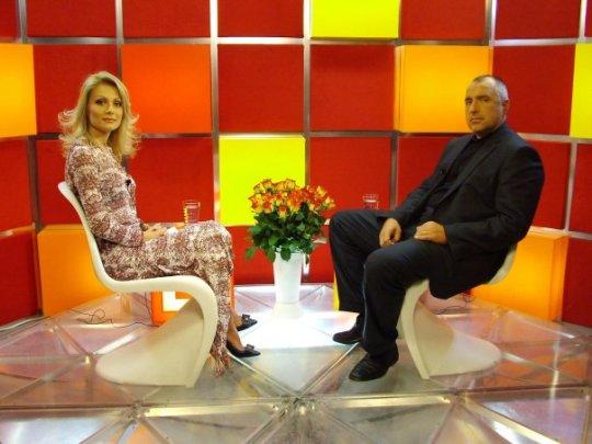 Допреди няколко години Венета бе сред най-рейтинговите водещи в българския ефир и интервюираше личности от ранга на Бойко Борисов.