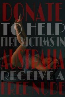 Порнозвезди и интернет-ексхибиционистки се оказаха сред най-активните дарителки в помощ на австралийските огнеборци.